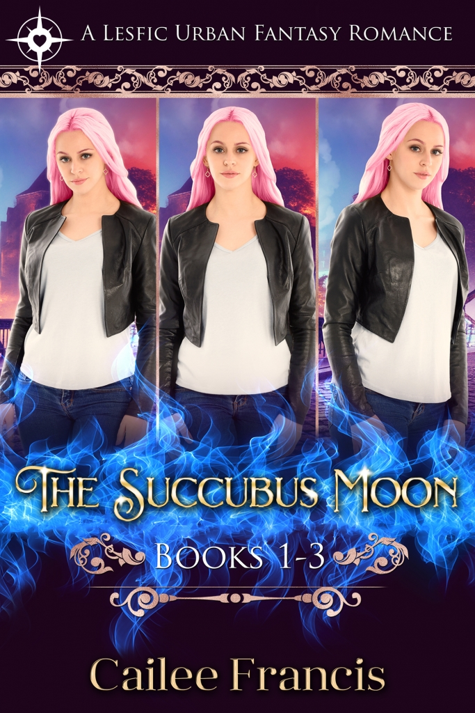 Book Cover: The Succubus Moon Series